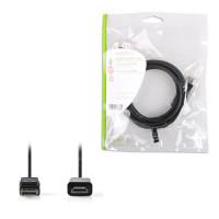 Nedis Καλώδιο εικόνας DisplayPort αρσ. σε HDMI αρσ . 2.00m. [CCGP37100BK20]