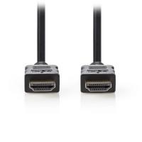 Nedis HDMI καλώδιο 3m με επίχρυσες επαφές [CVGT34000BK30]