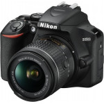 Nikon D3500 Kit 18-55mm VR AF-P Black + Δώρο Θήκη