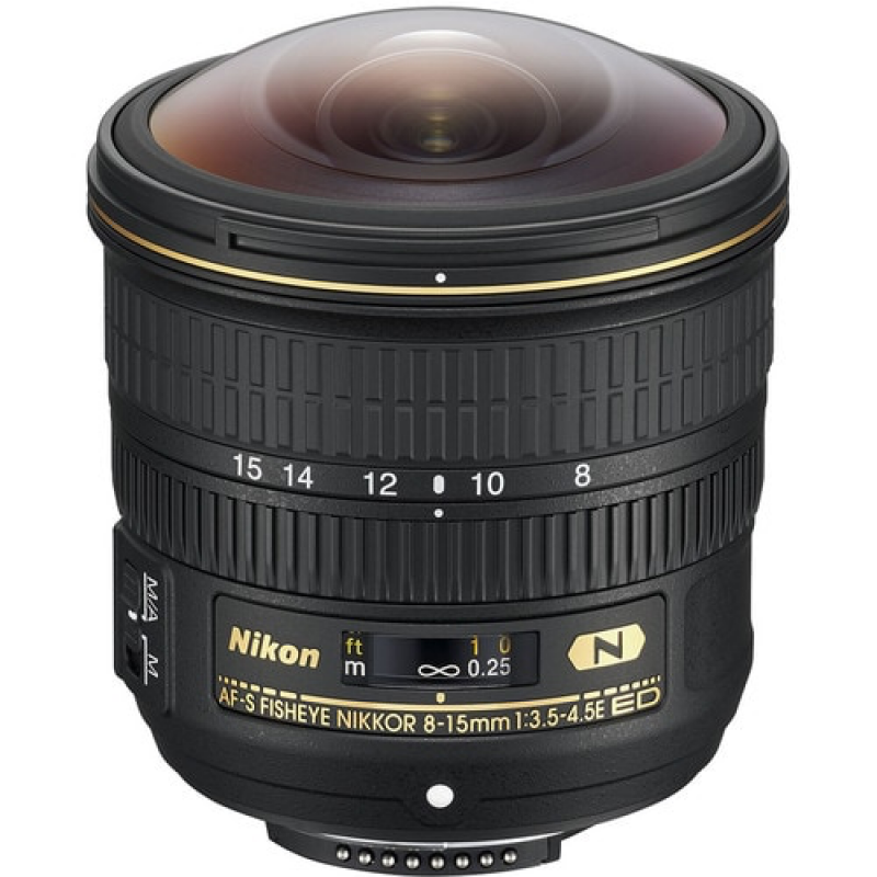 Nikon Lens 8-15mm f/3.5-4.5E ED AF-S Fisheye