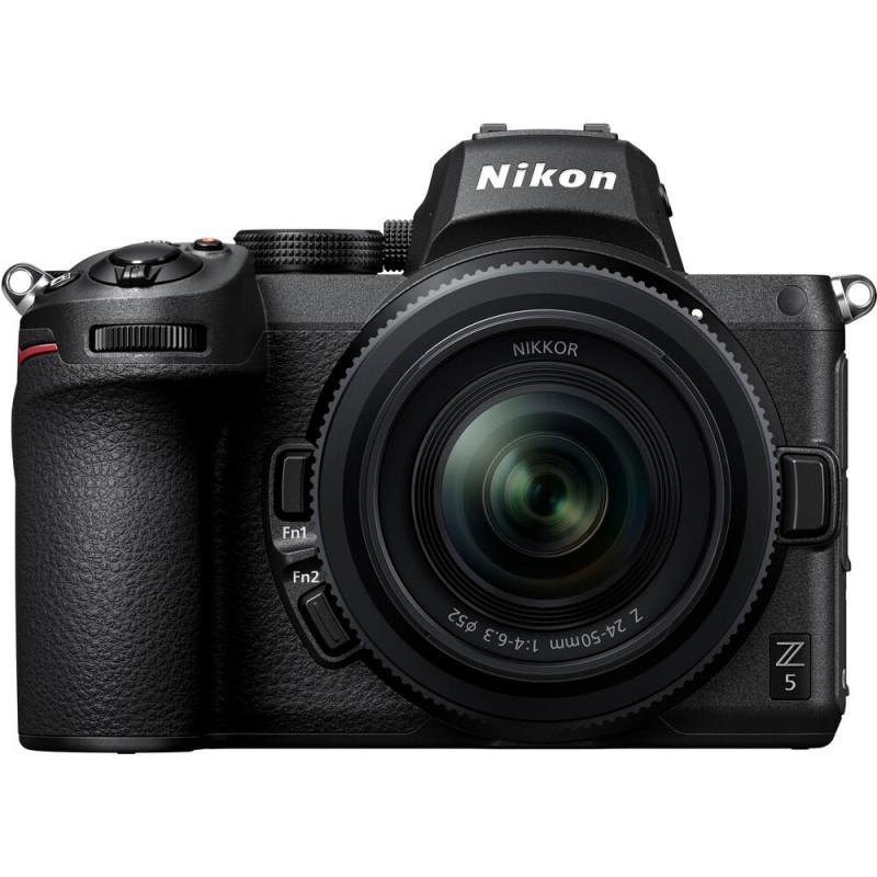 Nikon Z5 Kit With Z 24-50mm F4-6.3 + FTZ Adapter [VOA040K003]
