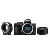 Nikon Z 50 Kit (16-50mm VR) Black + FTZ ADAPTER - Εκθεσιακή