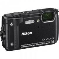 Nikon Coolpix W300 Black - Holiday Kit