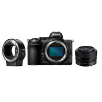 Nikon Z5 Kit With Z 24-50mm F4-6.3 + FTZ Adapter [VOA040K003]