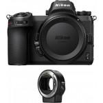 Nikon Z6 Body + FTZ Mount Adapter [VOA020K002]