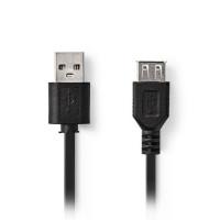 NEDIS USB Extension Cable Extension 2m - CCGT60010BK20