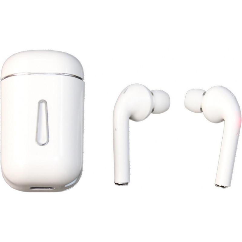 S18 TWS Ασύρματα Ακουστικά Bluetooth - White