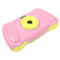 P12 Kids Digital Camera With Filters Games  and Music - Pink