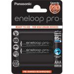 Panasonic Eneloop Pro Micro AAA 930 mAh 1x2 [ BK-4HCDE/2BE]