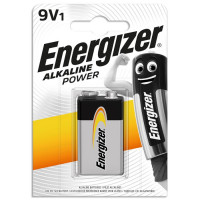 Energizer Μπαταρία Alkaline Power 9V - 6LR61