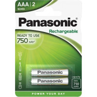 Panasonic AAA Rechargeable Ready to Use 750mAh 2τεμ