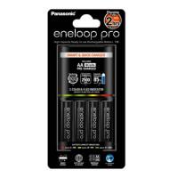 Panasonic Eneloop Smart & Quick Charger BQ-CC55 + 1x4 AA 2500mAh