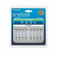 Panasonic Eneloop BQ-CC63E – Φορτιστής AA/AAA 8 θέσεων με ενδείξεις LED