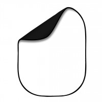 Queenie Collapsible Background 100x150cm (Black & White)