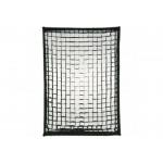 Queenie Easy Fold Softbox 60x90cm - Bowens Mount With Grid