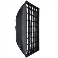 Queenie Easy Fold Softbox 80x120cm With Grid - Bowens Mount