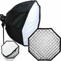 Queenie Octagon Umbrella Softbox 60cm With Grid - Bowens Mount