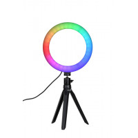 Quadralite LED Ring Light RGB - 8 inches