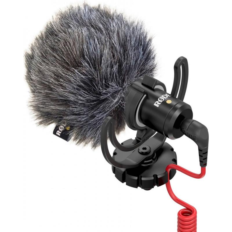 Rode VideoMicro Πυκνωτικό-κατευθυντικό mini μικρόφωνο για κάμερα