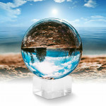 Accpro Lensball - 80mm with Crystal Base [ALB-K8]