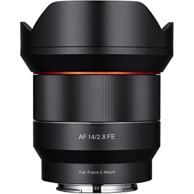 Samyang AF 14mm f/2.8 FE Lens for Sony Full Frame E mount [SYIO14AF-E]