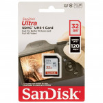 Sandisk Ultra SDHC 32GB Class 10 (120MB/s) [SDSDUN4-032G-GN6IN]