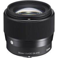 Sigma 56mm f/1.4 DC DN Contemporary Lens for Canon EF-M [351971]