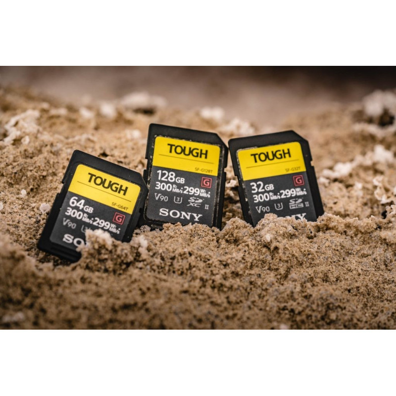 Sony SF-64TG Κάρτα μνήμης SDXC 64GB SF-G Tough Series U3 UHS-II