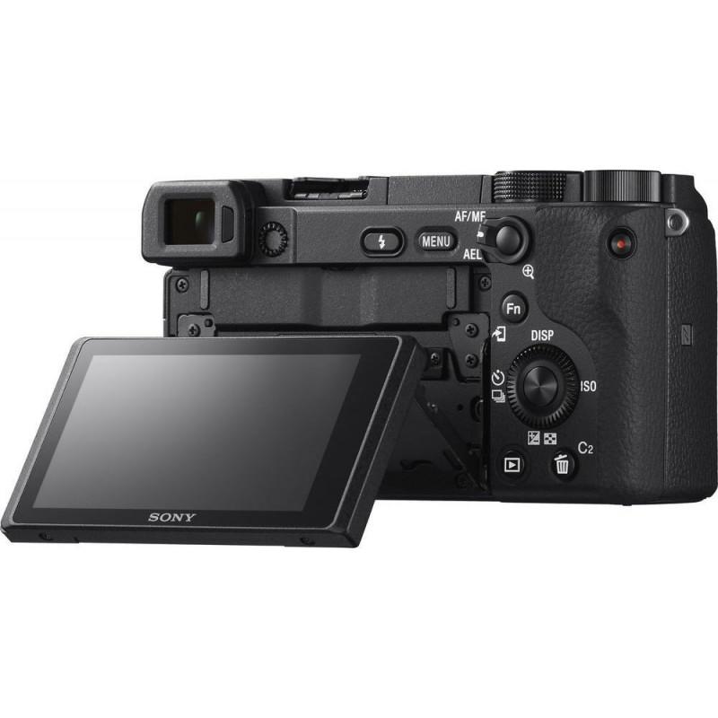 Sony a6400 kit + Sel 16-50mm - Black [ILCE-6400LB]