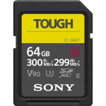 Sony SF-G64T Κάρτα μνήμης SDXC 64GB SF-G Tough Series U3 UHS-II