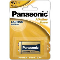 Panasonic Μπαταρία Alkaline Power 9V - 6LR61APB/1BP