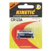 KINETIC CR123A Μπαταρία Λιθίου