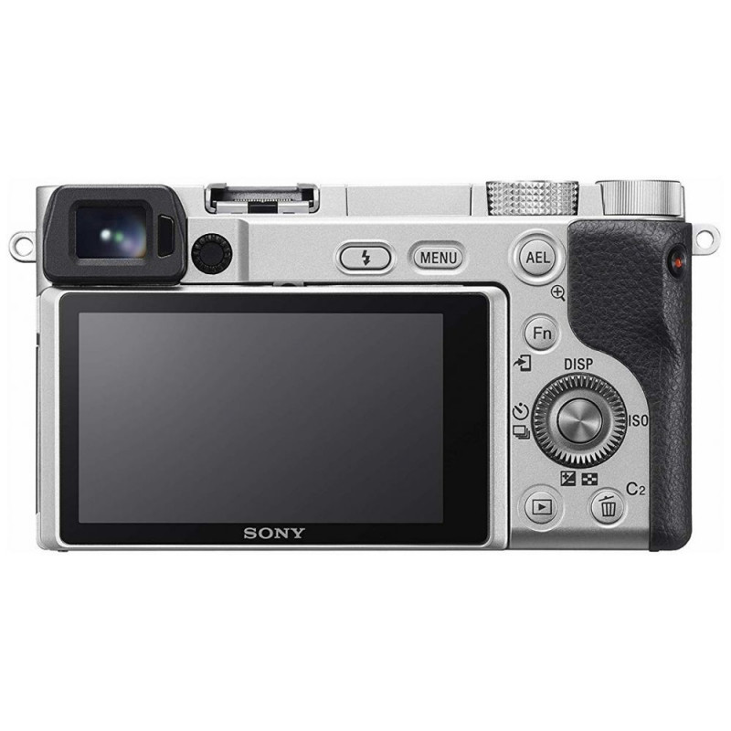 Sony a6100 Silver kit + Sel 16-50mm [ILCE-6100LS]