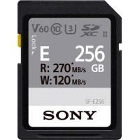 Sony Κάρτα μνήμης 256GB SD UHS-II σειράς SF-E [SF-E256]