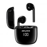 Awei T28P Αδιάβροχα Ασύρματα Ακουστικά Bluetooth - Black