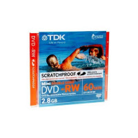 TDK Mini DVD-RW 60min Double Sided