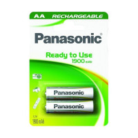 Panasonic AA Rechargeable Ready to Use 1900mAh 2τεμ