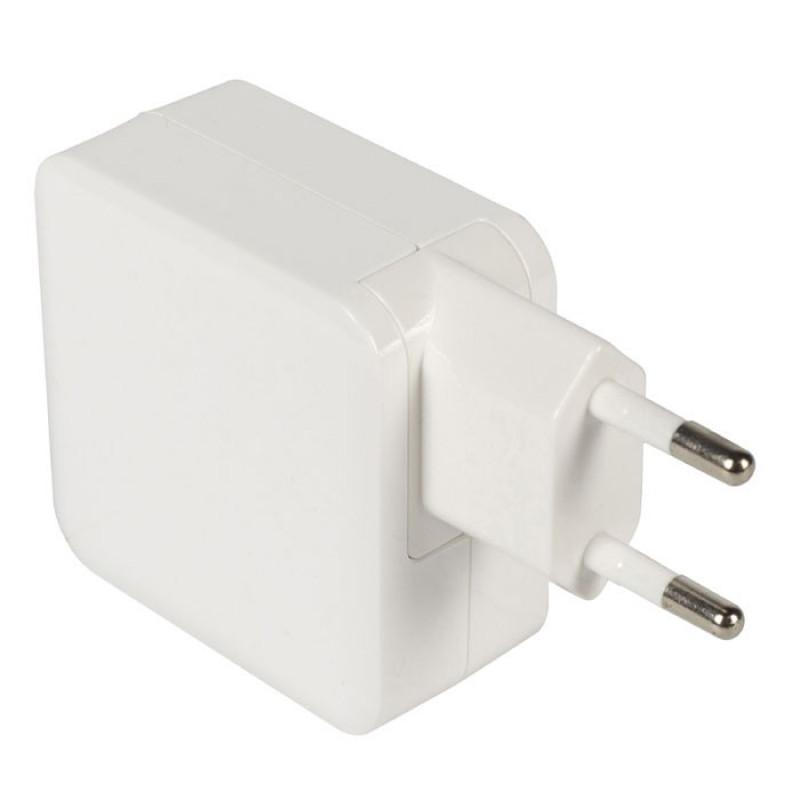 Sweex 1x USB και 1x USB type-C Wall Charger Λευκό [CH-015WH]