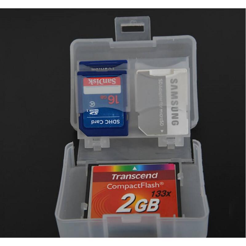 Caden Memory Card Case for 8 SD /  1 CF