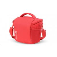 Vanguard VK 22RD Shoulder Bag in Nylon/Polyester - Red