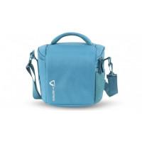 Vanguard VK 22BL Shoulder Bag in Nylon/Polyester - Blue