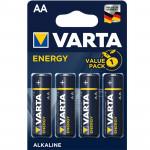 Varta 4106 Energy Μπαταρίες Αλκαλικές AA X4 1,5V