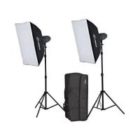 Visico VL-200 plus Softbox Studio Lighting Kit