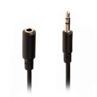 Nedis Επέκταση Καλωδίου 3,5mm αρσ. Stereo - 3,5mm Stereo θηλ - 2 μέτρα [CAGP22050BK20]