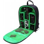 G-raphy Camera Backpack Bag - Medium (Green) [NIG-D7]