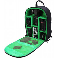 G-raphy Camera Backpack Bag - Medium (Green) [NIG-D7]
