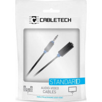 Cabletech Επέκταση Καλωδίου 3.5mm Female TRS to 3.5mm Male TRS  - 3 μέτρα