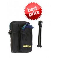Θήκη Nikon για Compact με Δώρο mini Τριπόδι