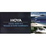 Hoya Introduction Set Digital Filter Kit II UV(C)+CPL+NDx8 77mm
