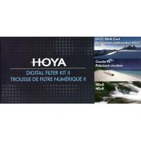 Hoya Digital Filter Kit II UV(C)+CPL+NDx8 58mm